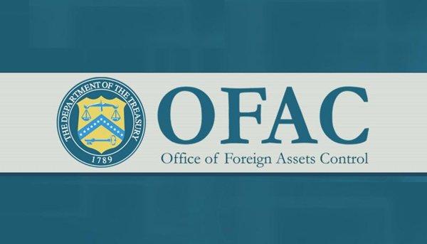 Because OFAC Says So